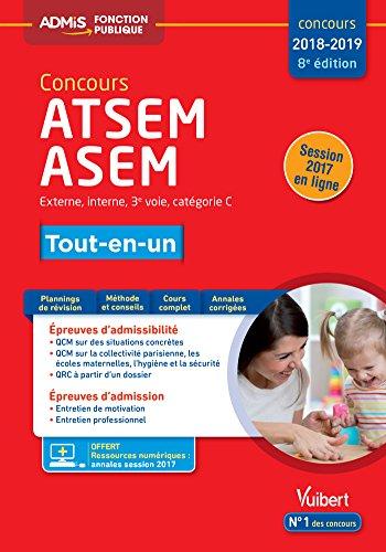 Concours ATSEM et ASEM - Catégorie C - Tout-en-un - Concours 2018-2019 par Elodie Laplace