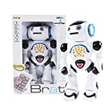 """Zuvo Toy Robot Large 12"""" Infrared Remote Control Robot Kids Shooting RC DancingToy"""