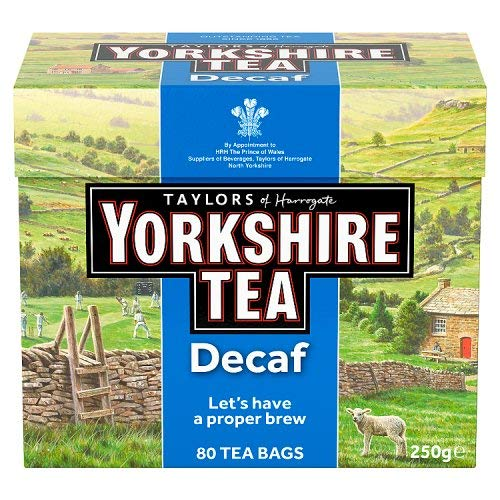 Taylors of Harrogate Yorkshire Tea Decaffeinated 80 Btl. 250g