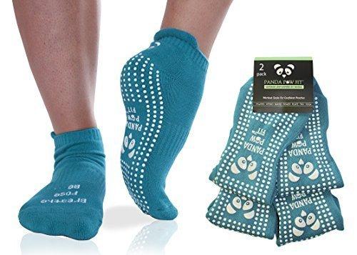 Rutschfeste Socken für Yoga, Pilates, Krankenhaus, Rehabilitation, Rutschiger Boden, Grip-Socken mit Antirutsch-Effekt