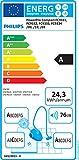 Philips beutelloser Staubsauger PowerPro Compact (AAA-Energie-Label, 650 W, 1,5 L Staubvolumen, integrierte Bürste, weiß) FC9332/09