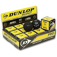 DUNLOP Revelation Pro Bolas de Squash (Punto Doble)- 1 Docena, Amarillo
