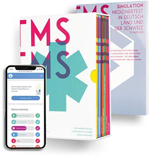 Medizinertest TMS / EMS 2020 Komplettpaket I Exklusives Paket aus Kompendium, TMS-Simulation und E-Learning Zugang I Vorbereitungs-Box für den Medizintest in Deutschland und der Schweiz