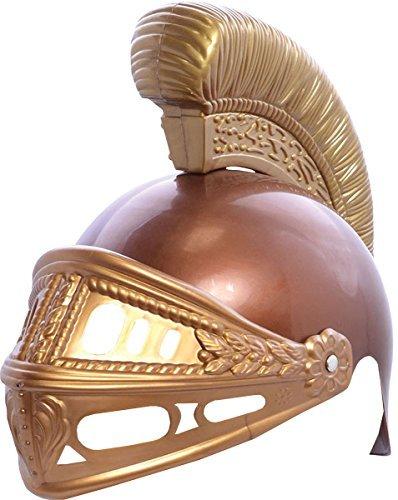 Altertümlich Griechisch Kinder Verkleidung Kostümparty Römisch Plastik Helm Rüstung Hut Griechischen Helm Für Kinder