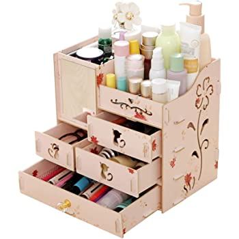 Stationery Holder 2016 New High Quality Diy Paper Board Storage Box Desk Decor Stationery Makeup Cosmetic Organizer New Pen Holder