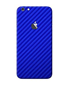 dbrand Carbon Blue Back Full Mobile Skin for Apple iPhone 6 Plus