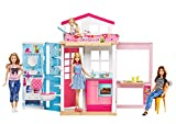 #9: Barbie 2 Story House and Doll, Multi Color