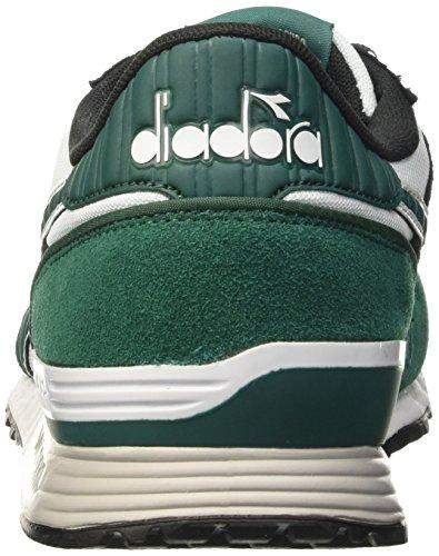 Diadora Unisex-Erwachsene Titan II Sneaker Multicolore (C6113 Verde Galapagos/Nero)