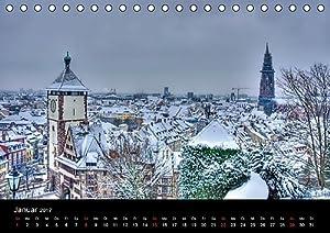 Freiburger Impressionen (Tischkalender 2017 DIN A5 quer): Freiburg im Breisgau (Monatskalender, 14 Seiten ) (CALVENDO Orte)