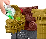 Imaginext Batman Ooze Pit with Ooze Canister and Slime, Batman and Ras al Ghul figures, Toy suitable from 3 years old