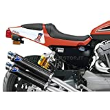 HARLEY DAVIDSON XR1200 R 2009 09 SCARICHI TERMIGNONI TERMINALI TONDI CARBONIO