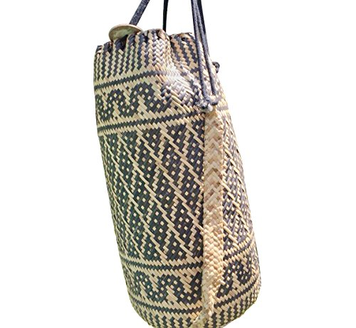 LUZAL Bali Tasche, Bali Bag, Borneo Tasche, Borneo Bag, Ajat, Rattan Bag, Borneobackpack Rattan-rucksack