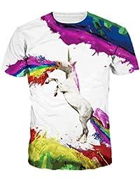 Männer O-Ansatz 3D Digital Druck Karikatur Tierentwurfs Geliebt Kurzschluss  Hülsen Sommer T-Shirts 01f95a3006