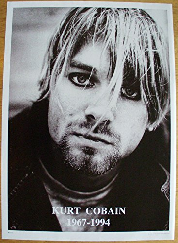 Kurt Cobain Nirvana Poster Format 64 x 90 cm Original von 1994