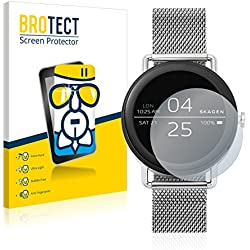 [1 Pack] Protector Pantalla Skagen Smartwatch Falster (42mm) Cristal Vidrio - AirGlass Glass Screen Protector