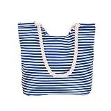 SoonerQuicker Lässige Frauen Umhängetasche Tragbare Freizeit Tasche Einkaufstasche (Weiß)
