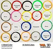 3D Pen Filament Refills 1.75 mm PLA Pack