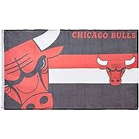 Forever Collectibles Flagge Chicago Bulls, Mehrfarbig, FLG53UKNBHORCBL