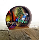 Twas the Night Before Christmas, mouse hole wall - Best Reviews Guide