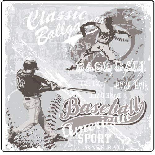 an American Sport, Vintage, dekoratives Metall, Aluminium ()