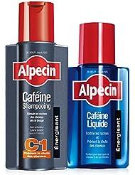 Alpecin Caféine Shampooing C1, 250 ml + Alpecin Caféine Liquide, 200 ml (shampooing + liquide anti-chute)