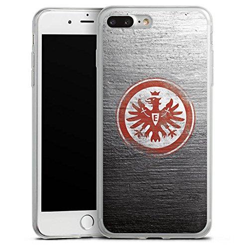 Apple iPhone 8 Slim Case Silikon Hülle Schutzhülle Eintracht Frankfurt Fanartikel Vintage Silikon Slim Case transparent