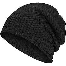 Compagno caldo berretto foderato berretto invernale beanie design in maglia  fina con soffice fodera interna in 22159c0c1af8
