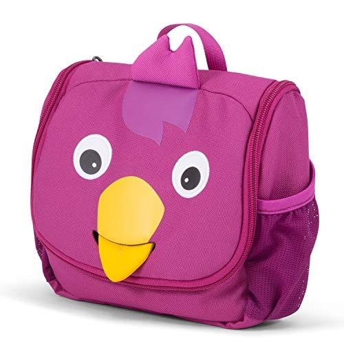 Affenzahn Kulturtasche Vicki Vogel für Kinder - Lila