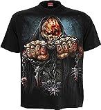 Spiral Men - 5FDP - Game Over - Licensed Band T-Shirt Black