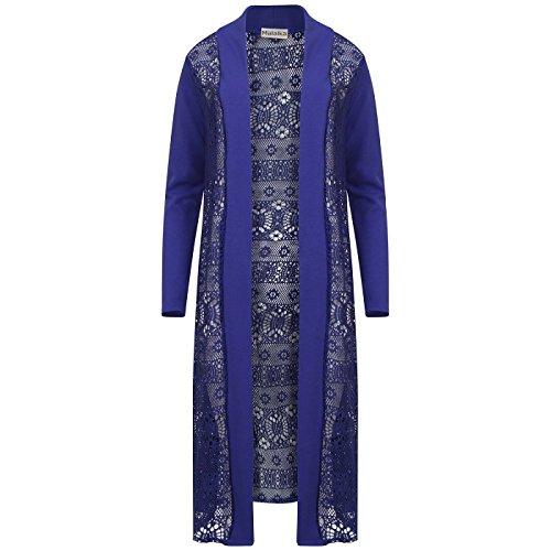 Sugerdiva - Robe - Pull - Femme noir noir Bleu Marine