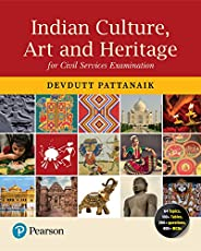 Indian Culture, Art and Heritage | For UPSC Civil Services Exam | First Edition | By Pearson