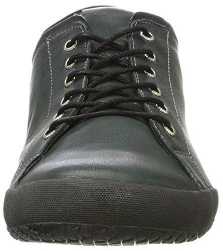 Andrea Conti 0342725, Sneaker Basse Donna Mehrfarbig (anthrazit/schwarz)
