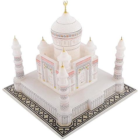 Hilalplaza in marmo del Taj Mahal 7 cm, in confezione regalo