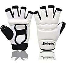 Xinluying MMA UFC Guantes Taekwondo Boxeo Karate Artes Marciales Lucha Libre Sparring Grappling Guante Entrenamiento Niño Mujer Hombre L