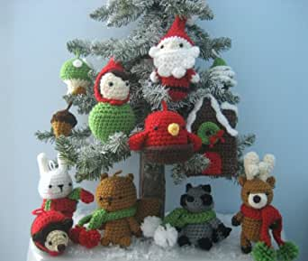Crochet Christmas Ornaments Patterns | The WHOot | 289x342