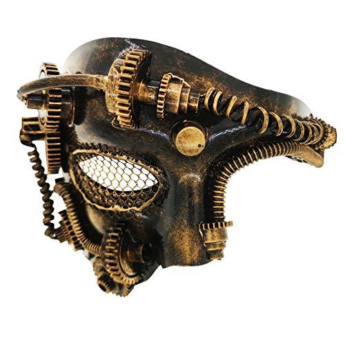 Halloween Venezianische Maske - Ubauta Steam Punk Phantom der Oper
