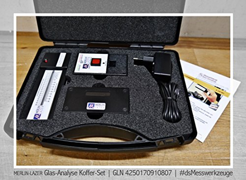 MERLIN-LAZER Glas-Analyse Koffer-Set