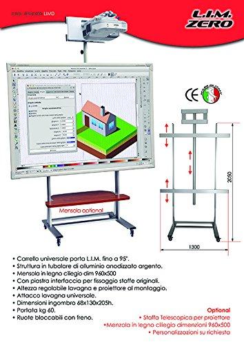 lim0Cart Universal-Tafel interaktive Multimedia Maximum-95'
