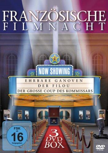 Französische Filmnacht (Der Filou / Ehrbare Ganoven / Der große Coup des Kommissars) [3 DVDs]