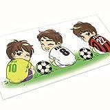 SHENCHI dessin animé de football autocollants de voiture autocollants voiture se passer librement autocollants corps . 20*9cm