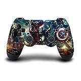 #7: Elton PS4 Controller Designer 3M Skin for Sony PlayStation 4 DualShock Wireless Controller - Marvel Avengers, Skin for One Controller Only