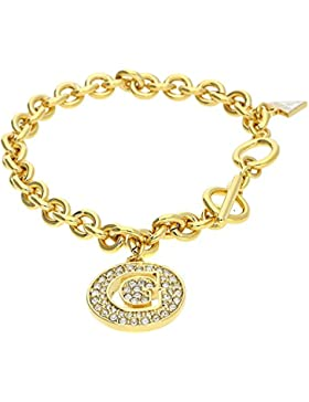 Guess Damen Armband Metall Gold Iconic UBB51427