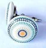 LK Trend & Style Möbelknauf Möbelgriffe Möbelknopf Schubladengriff Knauf Keramik Porzellan Griff (Jamil)