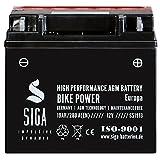 Motorrad Batterie 51913 AGM 19Ah 12V 280A/EN BMW mit ABS 52001 52101 12N19AH GT20H-3