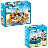Playmobil City Life Set de 2 partes 5570 Grupo de guardería + 5572 Piscina de bolas para bebés