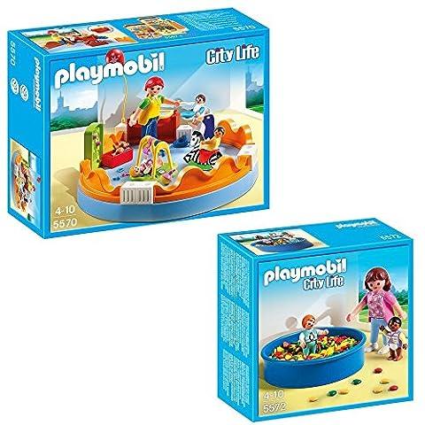 Playmobil ville City Life Set des 2-partes 5570 crèche +