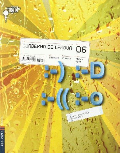 Cuaderno de Lengua 6º Primaria (Mundo Agua) - 9788426369208
