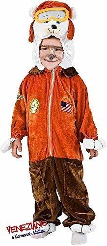 Fancy Me Italienische Herstellung Kleinkind Jungen Piloten Bär Halloween Kostüm Kleid Outfit 12-26 Monate - 1 Year (Kleinkind Junge Pilot Kostüm)
