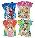 #8: Palak fashion Kids Girls 3D Print TOP T Shirt Pack of 4