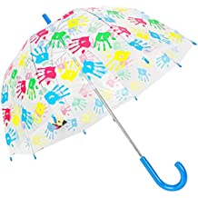 Susino Hand Print Dome-Paraguas Unisex adulto